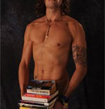 Book porn - Dan and his sexy books